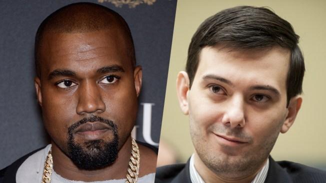 Ex-Pharma Chief Martin Shkreli Tweets $10M Bid for New Kanye Album