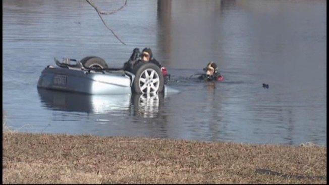 Four Dead After Car Plunges Into Pond