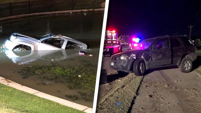 Women Charged With Drunken Driving in Crash Into Southlake Pond