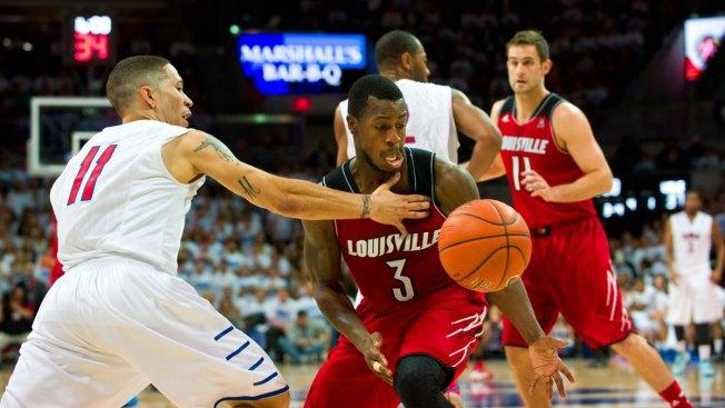 No. 11 Louisville Wins 84-71 at No. 18 SMU