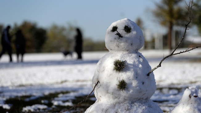 Southern Snowfall Isn't Deep, But Many Fear Overnight Freeze