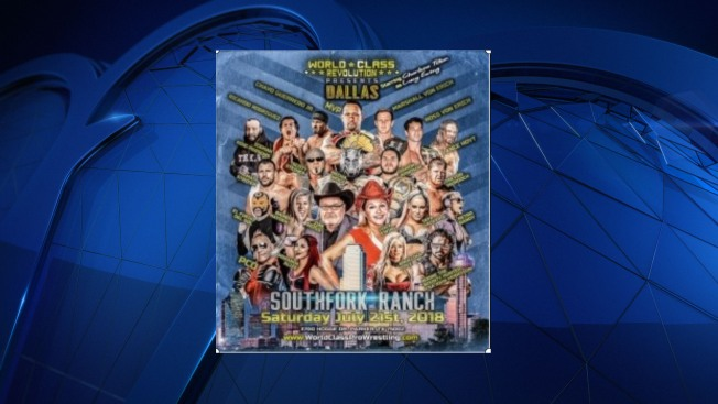 Iconic Southfork Ranch to Host 'Dallas' Wrestling Event