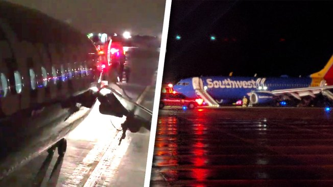 Southwest Airlines Passengers Jump From Plane After