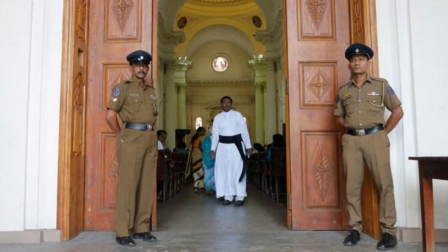 Sri Lanka Catholics Hold 1st Sunday Mass Since Attacks