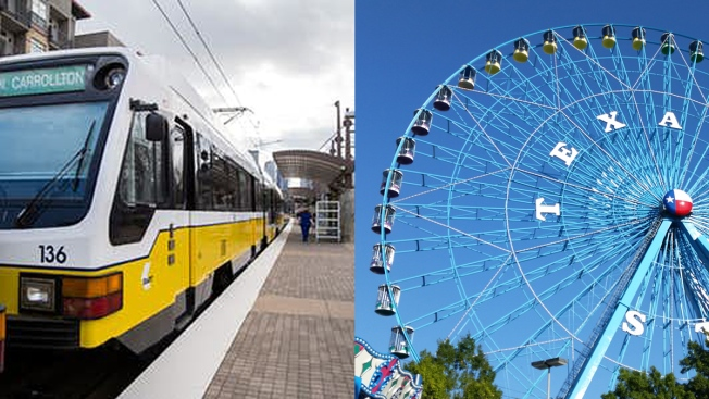 Additional DART Rail Service for the State Fair of Texas