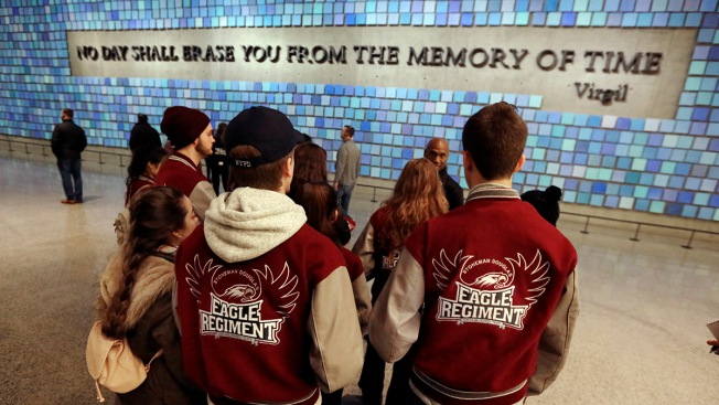 Florida School Shooting Survivors Visit Sept. 11 Museum in NYC