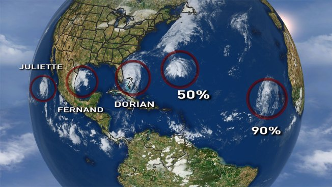 Tropical Outlook: Hurricane Dorian Not the Only Storm We're Watching