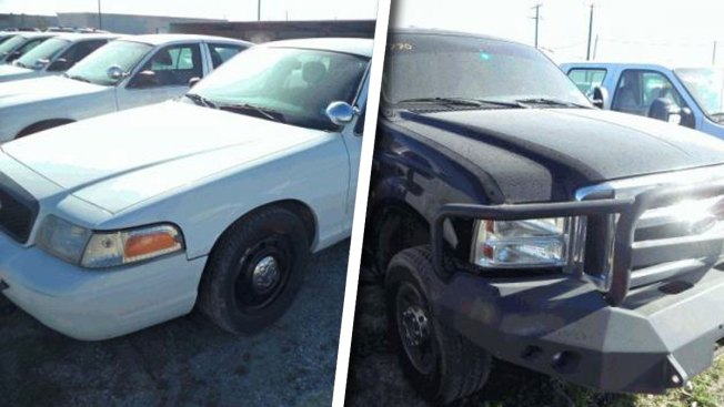 Tarrant County to Auction Vehicles, Seized Property
