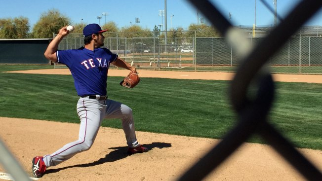 Darvish Takes Another Step in Rehab
