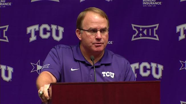 TCU Won Titles After Patterson's Other 2 Losing Seasons