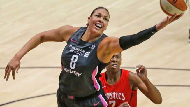 WNBA Star Liz Cambage Traded From Dallas to Las Vegas