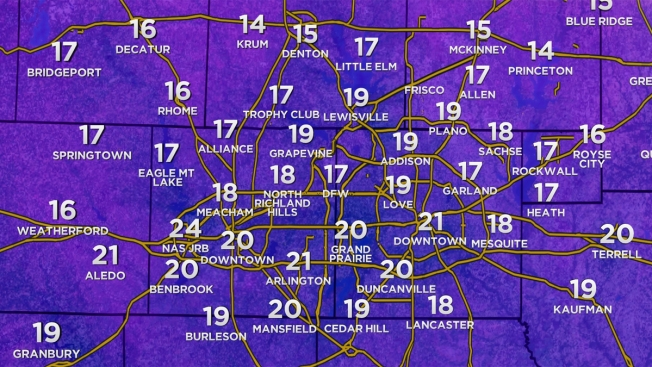 Arctic Cold Front Moves Into North Texas