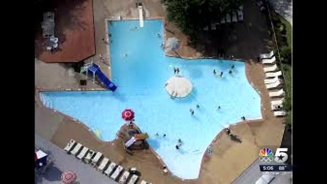 Texas Shaped Swimming Pool Celebrates 55 Years - NBC 5 Dallas-Fort Worth
