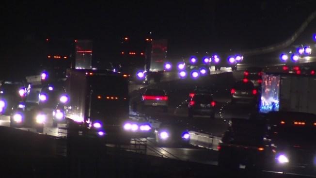 Multiple Vehicles Involved in Grapevine Crash Along 121