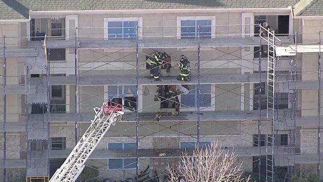 Sonoma Grande Apartments in The Colony Catch Fire