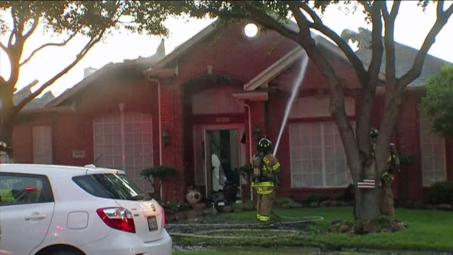 Family Escapes House Fire in The Colony