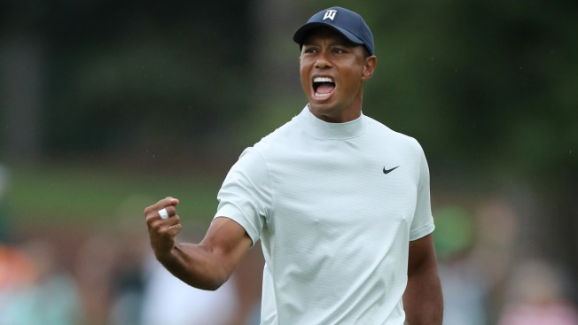 Tiger Looms Large, Even on Star-Filled Masters Leaderboard