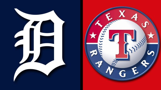 Verlander, Collins Lead Tigers Past Slumping Rangers 7-4