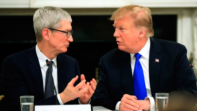 Trump Says He Called Apple's CEO 'Tim Apple' to Save Time After Reportedly Telling Donors He Never Said It