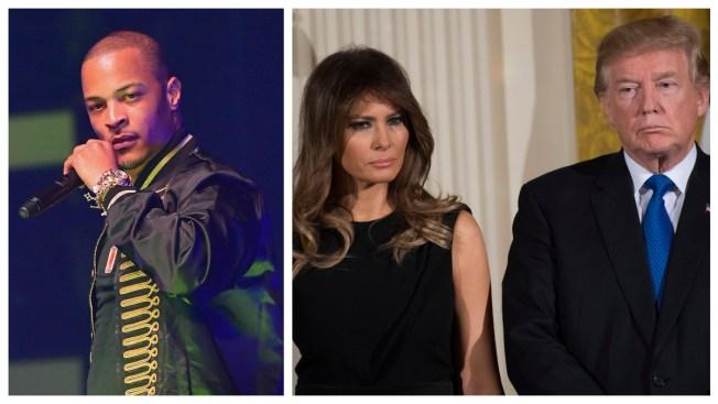 Melania Trump Spokeswoman Slams Rapper T.I. Over Lookalike Stripper Video, Calls For Boycott