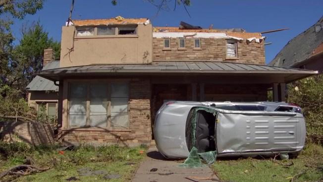 Tornado Damage: Dallas, Garland, Midlothian, Rowlett From Oct. 20, 2019