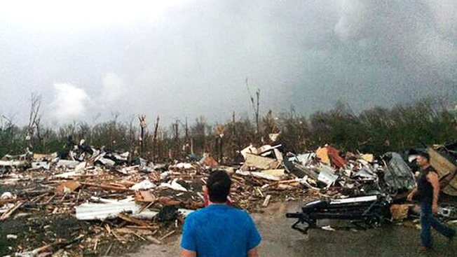 Devastation Left in Wake of Powerful Tornadoes