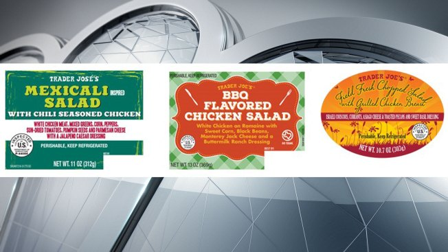 Houston Company Recalls Salad With Chicken Products