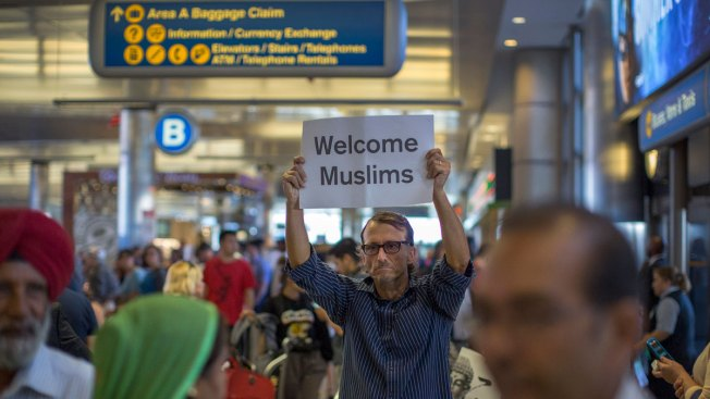 Grandmas, grandpas from travel ban states now welcome - USA  cable