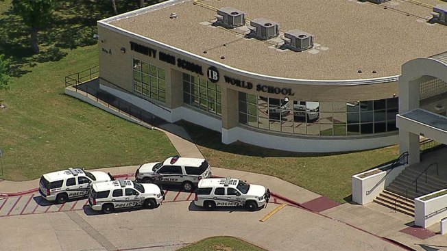 Euless Trinity High School, Midway Park Elementary Locked Down Friday