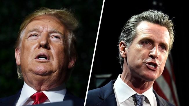 Trump, Republican Party Sue Over California Tax Return Law