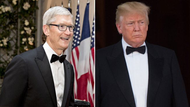 Trump Meets With Apple CEO at White House to Talk Trade
