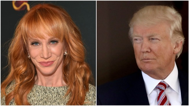 Kathy Griffin releases photo holding a severed Trump head