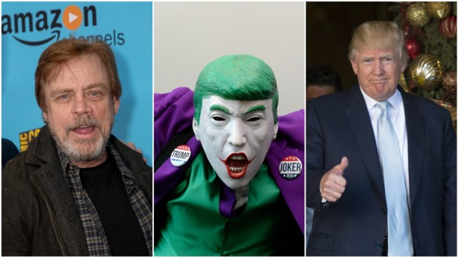 Hear It: Mark Hamill Dubs Donald Trump New Year's Tweet In Voice of The Joker