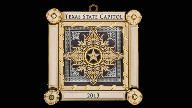 Texas Capitol Ornament Sells for Over $5,000