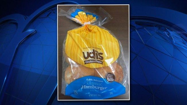 Recall Alert: Udi's Classic Hamburger Buns