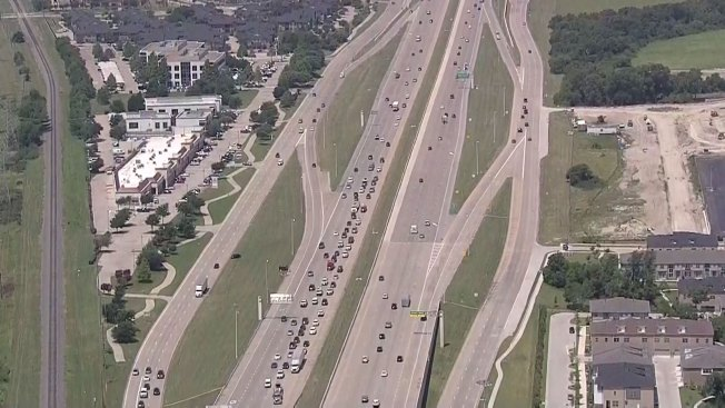 Crash Closes Eastbound Ramp From PGBT to U.S. Highway 75