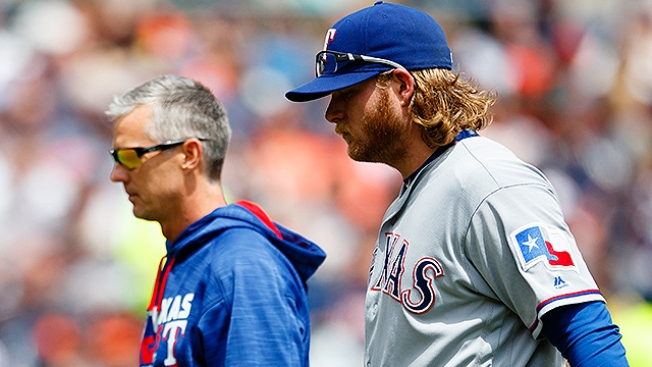 Griffin Closer to Returning to Rangers
