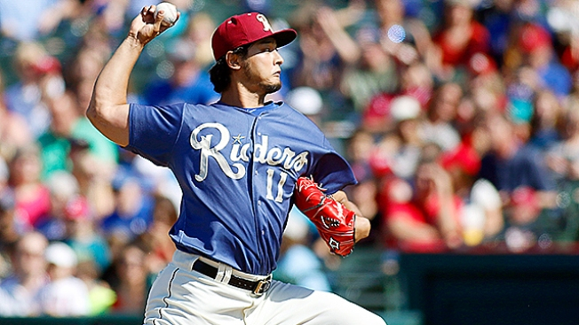 Darvish Set For Rehab Start Sunday In Frisco