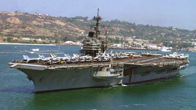 Retired Aircraft Carrier USS Ranger Reaches Texas For Scrap