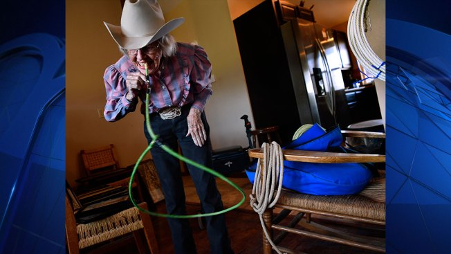 West Texas Woman, 92, Proudly Still Lives the Cowgirl Life