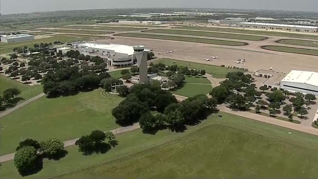 Control Tower at Fort Worth's Alliance Airport Has Leaky Roof