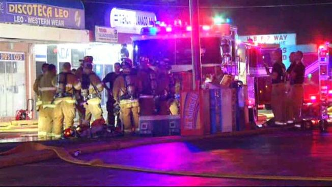 Garland Strip Mall Catches Fire Overnight