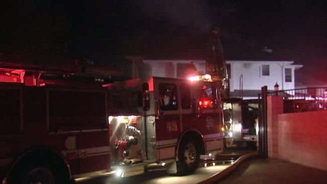 Large Home Damaged in Early-Morning House Fire