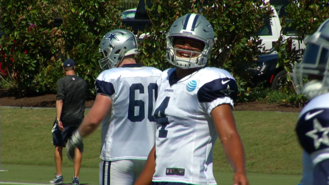 Rookie Prescott Ready to be Cowboys Season Opening Quarterback