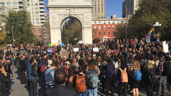 Students Across the Country Protest Trump's Win