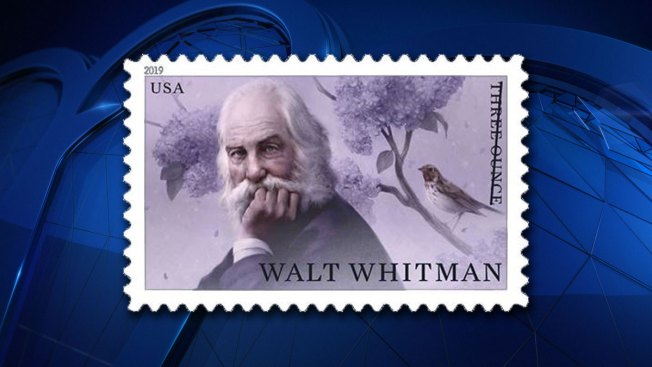 USPS Stamp to Honor Walt Whitman, 'Father of Modern American Poetry'