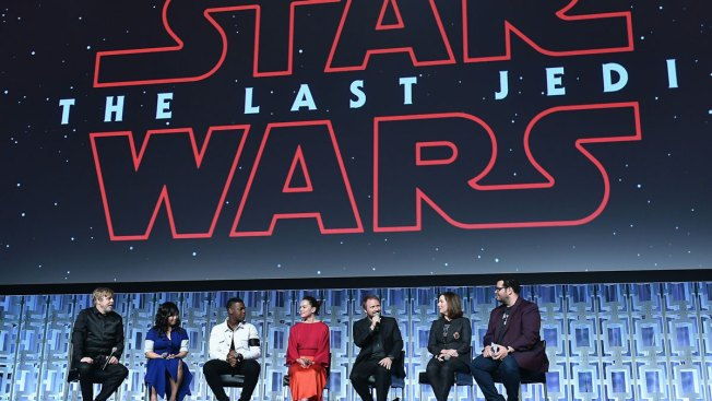 For 'Last Jedi' promotion, an augmented reality character hunt