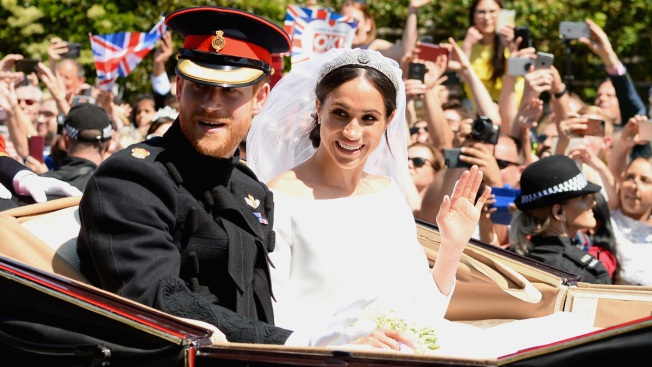 Meghan Markle and Prince Harry Mark 1-Year Anniversary With Never-Before-Seen Wedding Photos