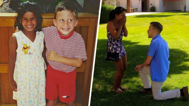 20 Years in the Making: Preschool Sweethearts Finally Wed