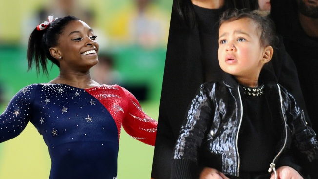 Simone Biles to Kim Kardashian West: Give North a Leotard So She Can Be 'Mini Me'
